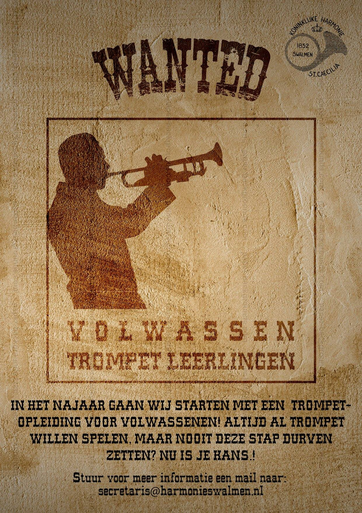 Poster Trompet